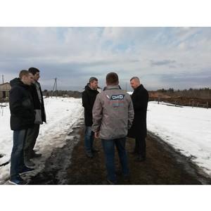 ОНФ в Карелии взял на контроль ликвидацию опасной свалки отходов деревообработки в поселке Заозерье