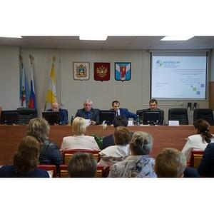 Выездной прием граждан руководством Филиала в Шпаковском муниципальном районе.