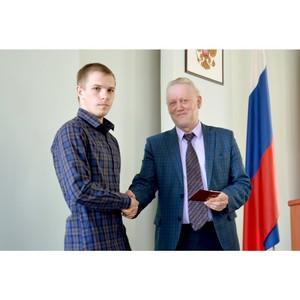 Студентам Рубцовского института (филиала) АлтГУ вручили золотые знаки отличия ГТО