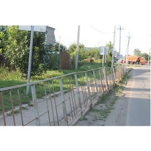 Активисты ОНФ продолжают контроль за дорожной безопасностью возле школы и детсада в Новой Усмани