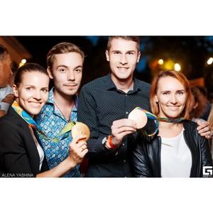 Kistochki поздравили олимпийских призеров