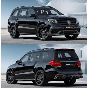Новая разработка компании Brabus для Mercedes-AMG GLS