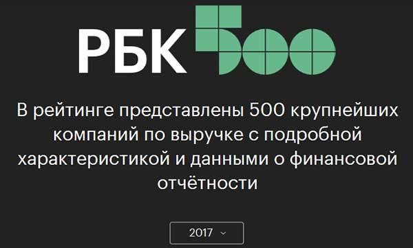 Merlion - №57 в рейтинге РБК «500 крупнейших компаний России»