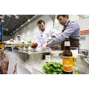 На Международной выставке «HorexSiberia - 2014» было представлено искусство пивной кулинарии