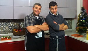 Новогоднее  кулинарное шоу в выставочном  зале Фабрики кухонь «ZETTA»