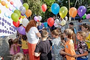 Праздник для беженцев из Украины от ростовских микрофинансистов