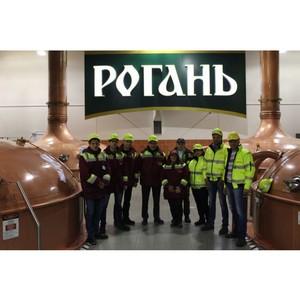 Посол Бельгии в Украине посетил пивоварню САН ИнБев в Харькове