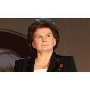 Терешкова: Пилотируемая космонавтика должна стать одним из приоритетов госполитики