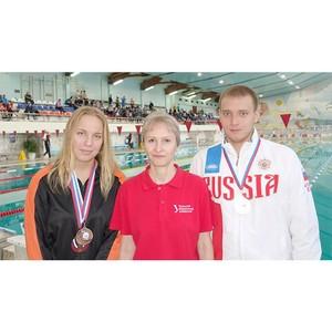 Спортсмены-пловцы завоевали четыре медали: золото, два серебра и бронзу