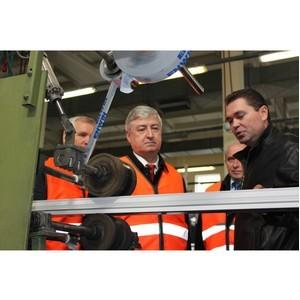 Заместитель Председателя Правительства Московской области посетил завод Deceuninck