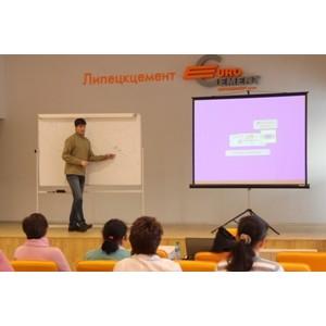 246 работников «Липецкцемента» приняли участие в программе повышения квалификации в 2013 году