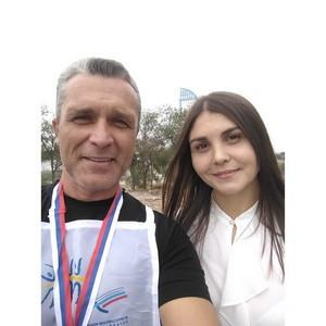 В Волгограде прошел «Кросс наций»