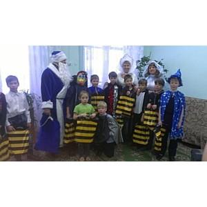 Сказочный Новый год прошел в детском доме