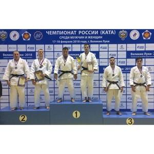Дзюдоисты из Пензы стали бронзовыми призерами Чемпионата России