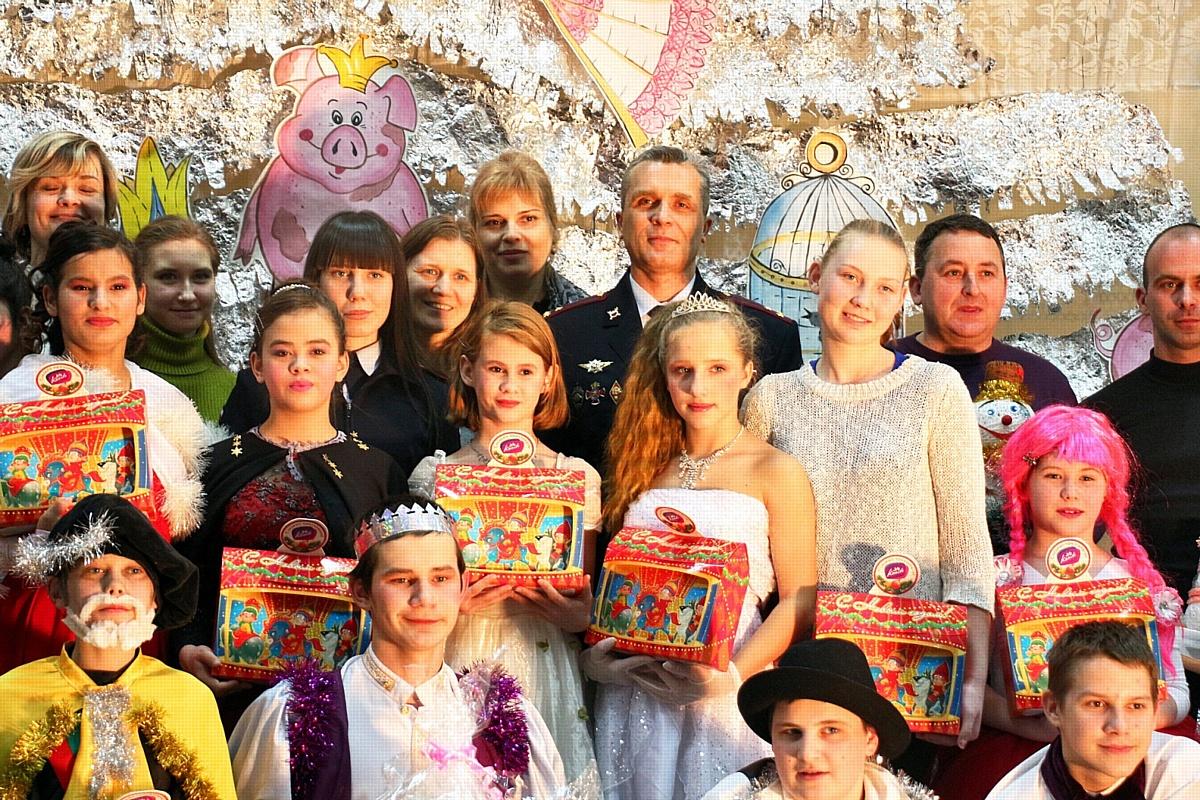В Волгограде провели профилактическую акцию «Полицейский Дед Мороз»