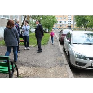 Активисты ОНФ Мордовии проводят мониторинги состояния дворовых территорий в районах республики