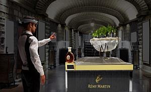 Дом Rémy Martin представляет дегустацию в формате смешанной реальности с Microsoft HoloLens