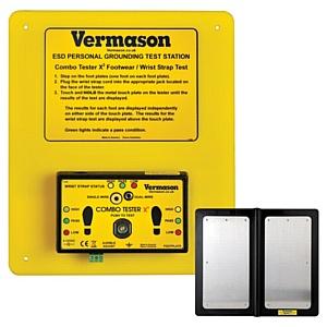 Компактный тестер-стенд для мониторинга браслетов и обуви производства Vermason