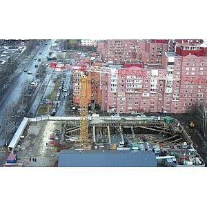 В Master Серебристый бульвар 19 завершены монолитные работы подземной части паркинга