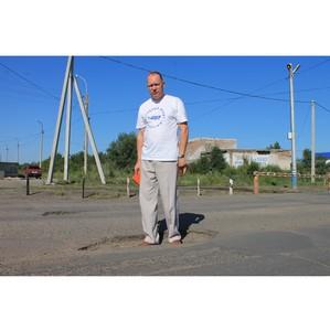 Активисты ОНФ в Хакасии провели повторную проверку автодорог Черногорска