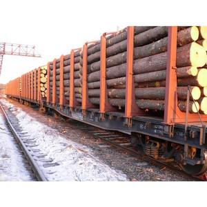 ПГК в два раза увеличила объем перевозок лесных грузов в Западной Сибири