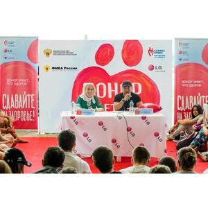 LG и Константин Цзю поддержали участников Всероссийского образовательного Форума «Селигер-2013»