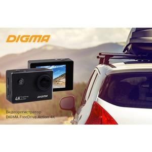 Видеорегистратор с функцией 4К-видео от Digma: FreeDrive Action 4K