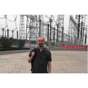 Специалист Удмуртэнерго принял участие в работе молодежной команды «Россети» в Китае