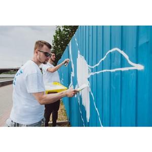 В Екатеринбурге появился 200-метровый арт-объект