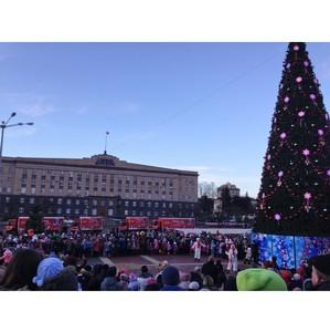 Рождественский караван Coca-Cola Hellenic встретили в Орловском регионе