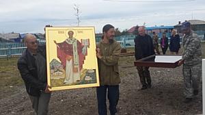 Уникальная икона Святого Николая для Преображенского храма в Охотске