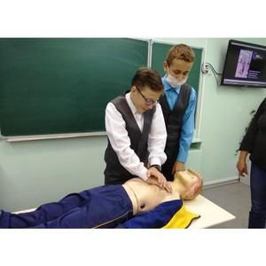 Специалисты Удмуртэнерго рассказывают школьникам о правилах электробезопасности