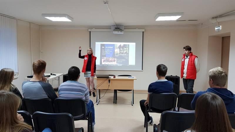«Молодежка ОНФ» рассказала о работе команды мордовским студентам