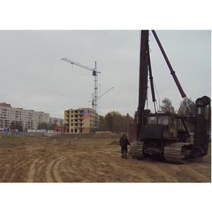 «Аквилон-Инвест» начал устройство котлована для 2-й очереди ЖК «Parus» в Северодвинске