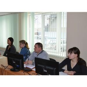 В Кадастровой палате прошла техническая учеба для сотрудников территориальных отделов