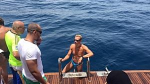 Пловец Илья Майский досрочно завершил марафонскую дистанцию
