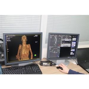 Компания Siemens Healthineers провела первое в истории Эрмитажа сканирование мумий