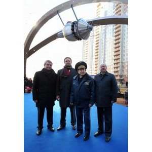 В Красногорске открылась первая очередь Аллеи Космонавтов