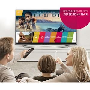 4K-контент ivi.ru на ULTRA HD телевизорах LG становится доступнее
