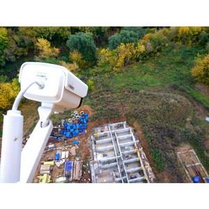 «Энфорта» установила «высотную» систему видеонаблюдения