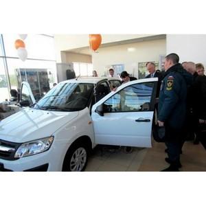 Вручение оборудованных автомобилей LADA инвалидам Чувашии прошло в автосалоне «Диал-Авто»