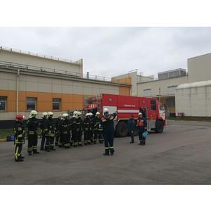 На подстанции Московского энергокольца 500 кВ «Каскадная» прошла противопожарная тренировка