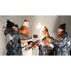 Члены Башкортостанского РО Союза машиностроителей России - участники эстафеты Олимпийского огня.