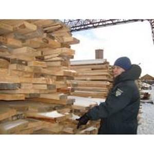 Растет вывоз лесоматериалов из Томской области