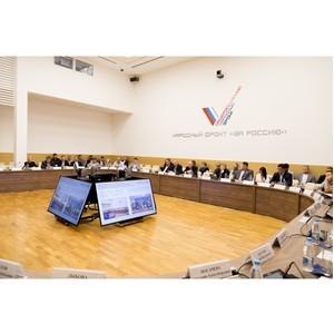В Москве прошло заседание регионального штаба Народного фронта