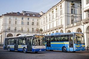 Концерн Iveco поставил в Турин 182 автобуса