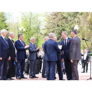 Профсоюзная организация Белгородэнерго занесена на областную Аллею трудовой славы