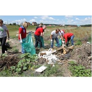 Воронежские активисты Народного фронта очистили от мусора живописные места микрорайона Никольское