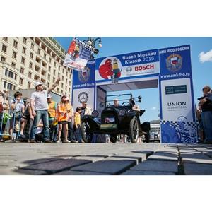 Олдтаймеры приняли участие в ралли Bosch Moskau Klassik 2015