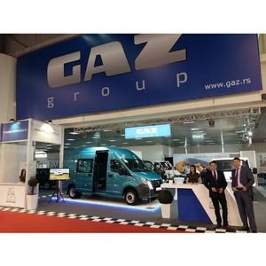 """ГАЗ на международной выставке """"Belgrade International Motor Show – 2017"""""""